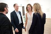 MAT COLLISHAW; HARRY BLAIN; NATALIA VODIANOVA; POLLY MORGAN, Damien Hirst, Tate Modern: dinner. 2 April 2012.