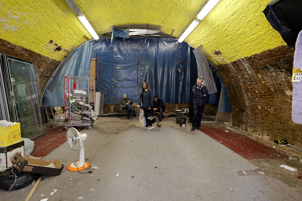 Empty Railway Arch after Network Rail Eviction