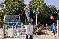 Podium BK Jumping, Verlooy Jos<br /> Belgisch Kampioenschap Jumping  <br /> Lanaken 2020<br /> © Hippo Foto - Dirk Caremans<br /> <br />  05/09/2020