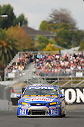 V8 Supercar driver Mark Winterbottom in action during Saturday morning qualifying at the HAMILTON 400, New Zealand, Saturday, 18th April 2009. Photo: Andrew Bright/PHOTOSPORT