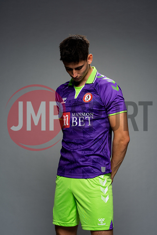 Callum O'Dowda of Bristol City during the 20/21 media day - Rogan/JMP - 28/08/2020 - Ashton Gate Stadium - Bristol, England.
