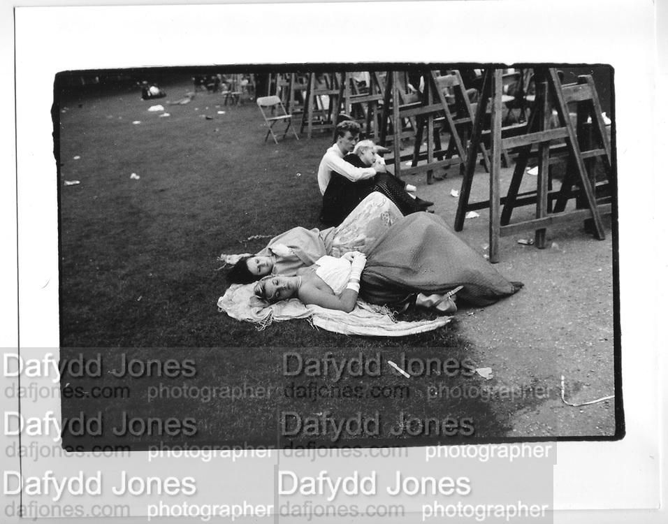 6. a.m. Trinity May Ball. Cambridge. 1984