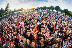 Kaiser Chiefs headline the main stage. Saturday at Party at the Palace 2017, Linlithgow.