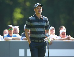 May 25, 2017 - Virginia Water, United Kingdom - Justin Rose of England.during 1st Round for the 2017 BMW PGA Championship on the west Course at Wentworth on May 25, 2017 in Virginia Water,England  (Credit Image: © Kieran Galvin/NurPhoto via ZUMA Press)