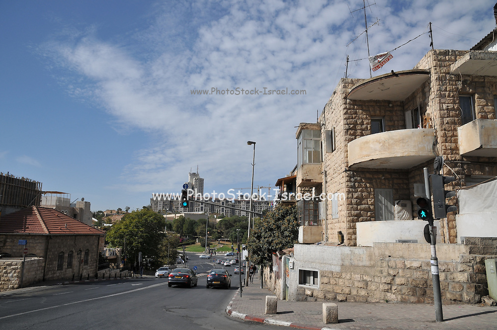Israel, West Jerusalem, Machane Yehuda neighbourhood Bezalel Street