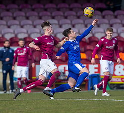06MAR21 Arbroath 2 v 4 Queen of the South, Scottish Championship played 6/3/2021 at Arbroath's home ground, Gayfield Park.