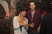 DENISE VAN OUTEN; CHARLIE GILKES, The launch of Beaver Lodge in Chelsea, a cabin bar and dance saloon, 266 Fulham Rd. London. 4 December 2014