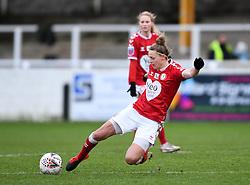 Yana Daniels of Bristol City Women - Mandatory by-line: Ryan Hiscott/JMP - 30/01/2021 - FOOTBALL - Twerton Park - Bath, England - Bristol City Women v Brighton and Hove Albion Women - FA Womens Super League 1
