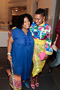 Brooklyn, New York-June 1- United States: (L-R) Rashida Shabazz and Author/Curator/Arts Educator Shantrelle P. Lewis attends the Brooklyn Museum's Fashion Night: Modern Black Dandies celebrating the art and style in honor of Author Shantrelle P. Lewis's new book ' Dandy Lion: The Black Dandy and Street Style held at the Brooklyn Museum on June 1, 2017 in Brooklyn, New York. (Photo by Terrence Jennings/terrencejennings.com)