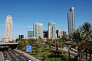 The high rise building at the Israeli Diamond exchange centre, Ramat Gan Israel