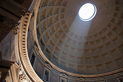 Europe, Italy, Rome, Pantheon interior