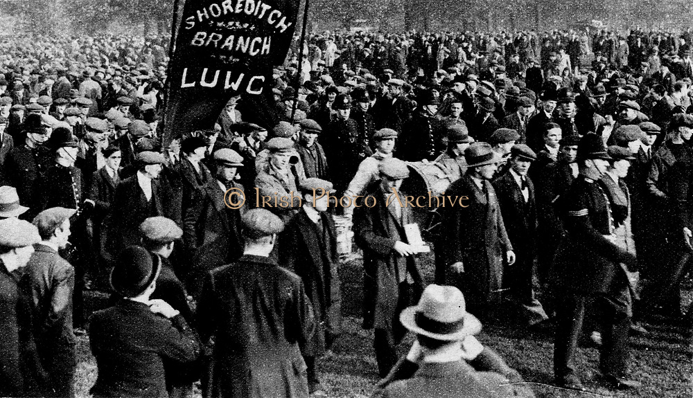 In 1932 the number of unemployed in Britain rose to 2,700,000. The National Government cut Unemployment enefit and intorduced a 'means test', an inquiry into the personal and family income of each applicant for benefit. This led to widespread protests.