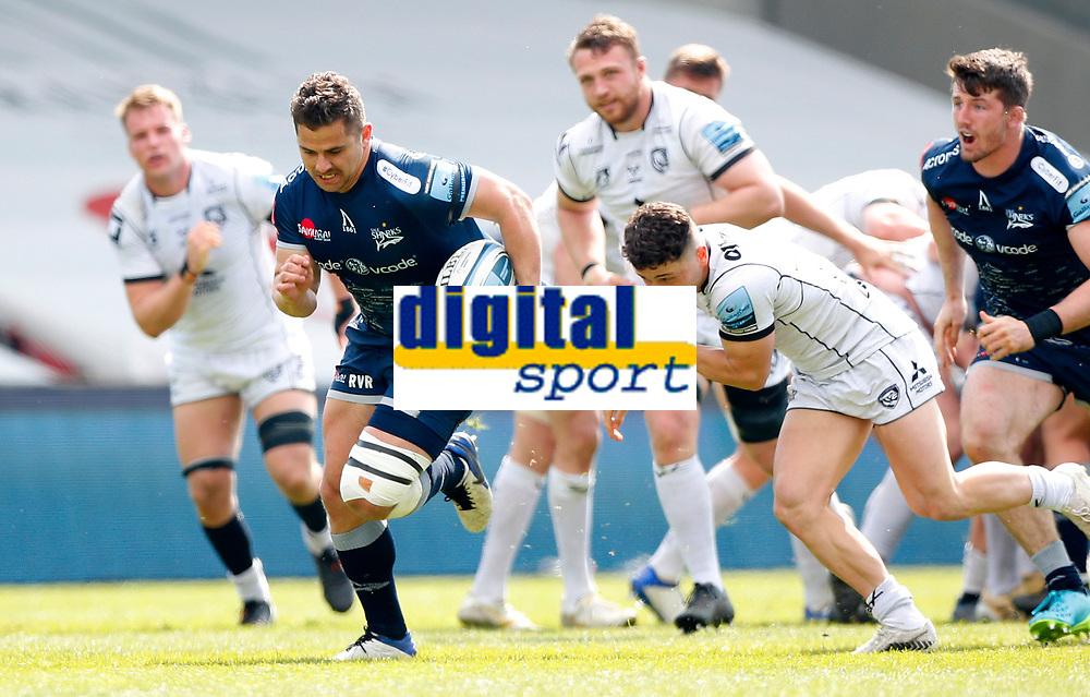 Caption Template Rugby Union - 2020 / 2021 Gallagher Premiership - Round 16 - Sale Sharks vs Gloucester - AJ Bell Stadium<br /> <br /> Rohan Janse van Rensburg of Sale Sharks<br /> <br /> Credit COLORSPORT/LYNNE CAMERON