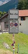 Bos-Cha, municipality of Scuol, Engadin, Graubünden, Switzerland