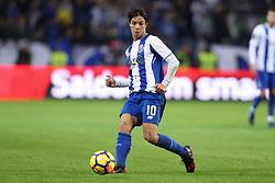 January 7, 2018 - Porto, Porto, Portugal - Porto's Spanish midfielder Oliver Torres in action during the Premier League 2017/18 match between FC Porto and Vitoria SC, at Dragao Stadium in Porto on January 7, 2018. (Credit Image: © Dpi/NurPhoto via ZUMA Press)