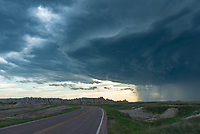 I arrived in Badlands National Park just in time to watch the first of 4 thunderstorms move through.