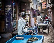 Street scene, Varanasi, Uttar Pradesh, India