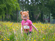 NO FEE PICTURES<br /> 28/5/16 Catelyn Martin, age 3, Tallaght at the Irish Kidney Association's Run For Life in support of Organ Donation at Corkagh Park in Dublin. Pictures:Arthur Carron