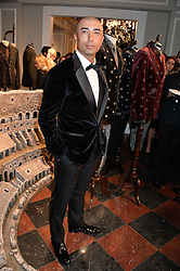 ROBERTO DI MATTEO at the Dolce & Gabbana London Collections: Mens Event 2014 held at Dolce & Gabbana, 53-55 New Bond Street, London on 5th January 2014.