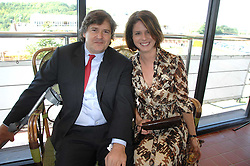 MR GEORGE & the HON.MRS CASE sister of the Countess of March at the 4th day of the Glorious Goodwood racing festival 2007 held at Goodwood Racecourse, West Sussex on 3rd August 2007.<br /><br />NON EXCLUSIVE - WORLD RIGHTS