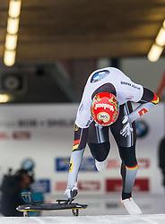 18.02.2016, Olympiaeisbahn Igls, Innsbruck, AUT, FIBT WM, Bob und Skeleton, Herren, Skeleton, 2. Lauf, im Bild Kilian Von Schleinitz (GER) // Kilian Von Schleinitz of Germany competes during men's Skeleton 2nd run of FIBT Bobsleigh and Skeleton World Championships at the Olympiaeisbahn Igls in Innsbruck, Austria on 2016/02/18. EXPA Pictures © 2016, PhotoCredit: EXPA/ Johann Groder