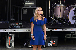 Opening ceremony, Brooke Emma, singing National anthem<br /> World Equestrian Games - Tryon 2018<br /> © Hippo Foto - Dirk Caremans<br /> 11/09/2018