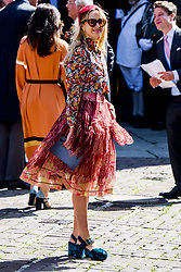 Elisabeth von Thurn und Taxis at the wedding ceremony of heir of the throne of German House of Hanover, Prince Ernst August Jr. of Hanover, Duke of Braunscshweig and Lueneburg, and Russian designer Ekaterina Masysheva at the Marktkirche church in Hanover, Germany, 08 July 2017. The son of Prince Ernst August of Hanover Sen., who is married to Princess Caroline of Monaco, is related to several royal houses in Europe. The House of Hanover is a German royal dynasty that also ruled the United Kingdom between. Ernst-August Sr.'s own father (Ernst-August IV) opposed his son's marriage to first wife Chantal, a Swiss commoner. Photo by Robin Utrecht/ABACAPRESS.COM