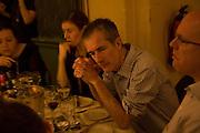 GEOFF DYER, Colman Getty PEN QUIZ 2008, Cafe Royal. London. 24 November 2008 *** Local Caption *** -DO NOT ARCHIVE -Copyright Photograph by Dafydd Jones. 248 Clapham Rd. London SW9 0PZ. Tel 0207 820 0771. www.dafjones.com