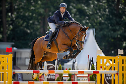 HARTMANN Philipp (GER), Big Boston <br /> Finale der 6 jährigen Springpferde<br /> Warendorf - Bundeschampionate 2020<br /> 30. August 2020<br /> © www.sportfotos-lafrentz.de/Stefan Lafrentz