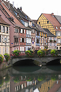 little venice quai de la poissonnerie colmar alsace france