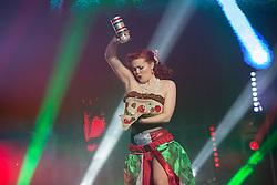 Rome, Caput Mundi International Burlesque Award 2016. In the photo: the winner of the evening Kiki Cherie NO WEB *** *** *** NO DAILY
