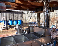 New maple syrup boil-down concentrator. Image taken with a Leica TL camera and 18-56 mm zoom lens