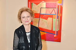Artist CAROL CORELL at a private view entitled Stop Making Sense featuring work by Georgiana Anstruther and Carol Corell held at Lacey Contemporary, 8 Clarendon Cross, London on 9th March 2016.