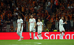 September 18, 2018 - °Stanbul, Türkiye - Lokomotiv Moscow players after Galatasaray scores during Galatasaray's during Galatasaray - Lokomotiv Moskova UEFA Champions League Game at Turk Telekom Arena, 18th of Sept. 2019. (Credit Image: © Tolga Adanali/Depo Photos via ZUMA Wire)