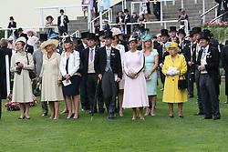 June 19, 2018 - Ascot, United Kingdom - Image licensed to i-Images Picture Agency. 19/06/2018. Ascot , United Kingdom . The Queen on the opening day of Royal Ascot, United Kingdom. (Credit Image: © Stephen Lock/i-Images via ZUMA Press)