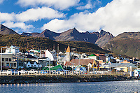 CIUDAD Y BAHIA DE USHUAIA, PROVINCIA DE TIERRA DEL FUEGO,  PATAGONIA, ARGENTINA (PHOTO BY © MARCO GUOLI - ALL RIGHTS RESERVED. CONTACT THE AUTHOR FOR ANY KIND OF IMAGE REPRODUCTION)
