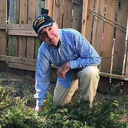 """Russell Simmons releases a photo on Twitter with the following caption: """"""""My grandpa is a 97 year-old WWII vet & Missouri farmer who wanted to join w/ those who #TakeaKnee: """"those kids have every right to protest."""""""""""". Photo Credit: Twitter *** No USA Distribution *** For Editorial Use Only *** Not to be Published in Books or Photo Books ***  Please note: Fees charged by the agency are for the agency's services only, and do not, nor are they intended to, convey to the user any ownership of Copyright or License in the material. The agency does not claim any ownership including but not limited to Copyright or License in the attached material. By publishing this material you expressly agree to indemnify and to hold the agency and its directors, shareholders and employees harmless from any loss, claims, damages, demands, expenses (including legal fees), or any causes of action or allegation against the agency arising out of or connected in any way with publication of the material."""