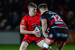 Alex Hearle of Worcester Warriors in action - Mandatory by-line: Craig Thomas/JMP - 02/02/2018 - RUGBY - Rodney Parade - Newport, Gwent, Wales - Dragons v Worcester Warriors - Anglo Welsh Cup