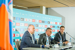 Tomaz Kavcic during Press conference of Football Association of Slovenia, on December 4, 2017 in National Football Centre, Brdo pri Kranju, Slovenia. Photo by Ziga Zupan / Sportida