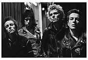 The Clash London west end late night photosession 1976