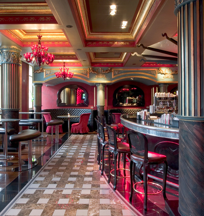 INTERIOR VIEW - PARIS BAR - HOTEL LE MONDE