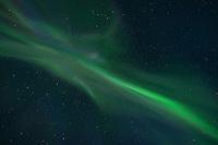 Northern Lights - Aurora Borealis Corona over Lofoten Islands, Norway
