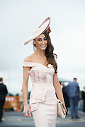 30/07/2015 report free : Winners Announced in Kilkenny Best Dressed Lady, Kilkenny Best Irish Design & Kilkenny Best Hat Competition at Galway Races Ladies Day <br /> At the event was Lorena  Dunne, Abbeyknockmoy<br /> Photo:Andrew Downes, xposure