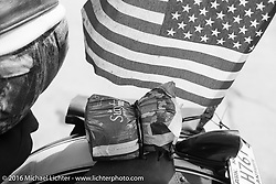 """""""Stay Free.""""  Stage 8 of the Motorcycle Cannonball Cross-Country Endurance Run, which on this day ran from Junction City, KS to Burlington, CO., USA. Saturday, September 13, 2014.  Photography ©2014 Michael Lichter."""