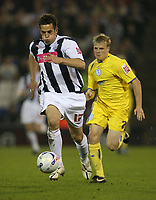 Photo: Rich Eaton.<br /> <br /> West Bromwich Albion v Sheffield Wednesday. Coca Cola Championship. 13/04/2007. West Broms Darren Carter attacks