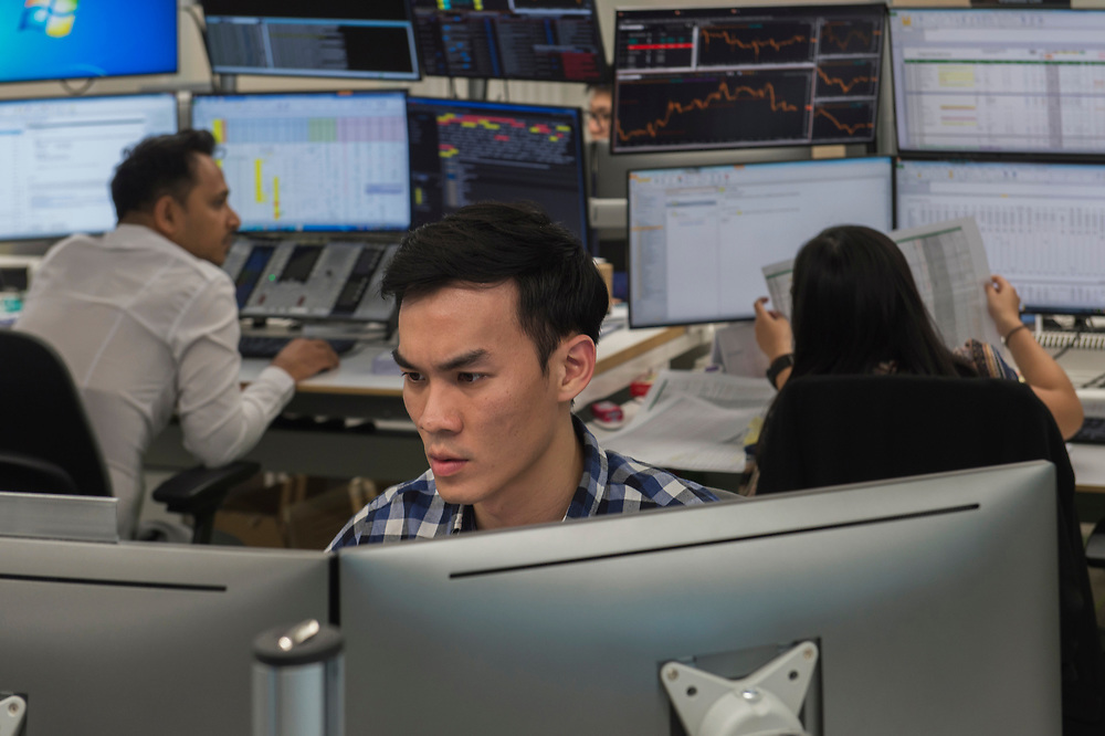BP Singapore Offices and Trading Floor, Marina One