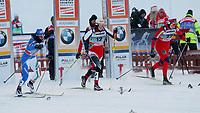 Langrenn<br /> FIS World Cup / Verdenscup<br /> Foto: Gepa/Digitalsport<br /> NORWAY ONLY<br /> <br /> 26.11.2010<br /> Kuusamo Finland<br /> <br /> FIS Weltcup, Nordic Opening, 1,2km Sprint der Damen. Bild zeigt Arianna Follis (ITA), Katerina Smuta (AUT) und Astrid Uhrenholdt Jacobsen (NOR) beim Start.
