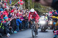 Sykkel VM / UCI 2017 Road worlds championships<br /> Men Elite Individual Time Trial<br /> 20.09.2017<br /> Bergen , Norway<br /> BOASSON HAGEN Edvald , NOR<br /> Foto: Astrid M. Nordhaug