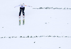 Barbara Klinec of Slovenia competes during FIS Continental Cup Ski Jumping Ladies in Ljubno, on January 23, 2011, at K-85 in Ljubno ob Savinji, Slovenia. (Photo By Vid Ponikvar / Sportida.com)
