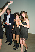 THE MARQUIS OF WORCESTER; MARINA HANBURY; ISABELLA SOMERSET, Quintessentially  Summer arts party with Perier Jouet.  An evening of performance art. Phillips de Pury Gallery. London. 9 July 2008. *** Local Caption *** -DO NOT ARCHIVE-© Copyright Photograph by Dafydd Jones. 248 Clapham Rd. London SW9 0PZ. Tel 0207 820 0771. www.dafjones.com.